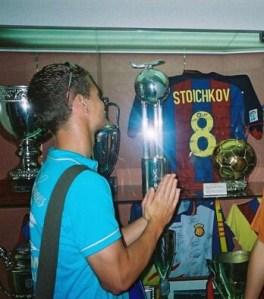 me and stoichkov